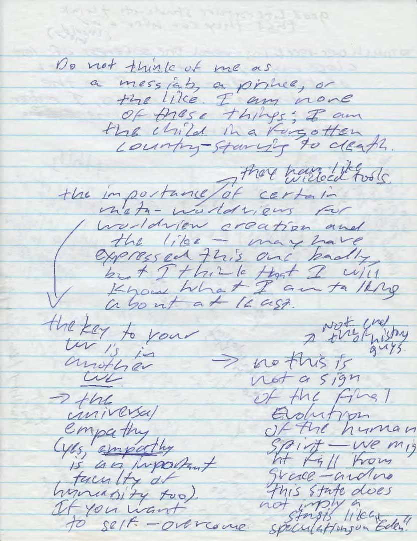 Manic Notes II (Luke Kernan)